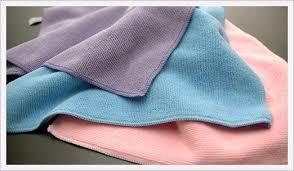 أنواع أقمشة التنظيف التي يستخدمها الإشراف الداخلي