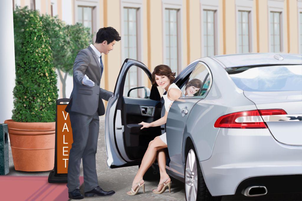 الوصف الوظيفي لسائق خدمة صف السيارات للفنادق Valet Driver