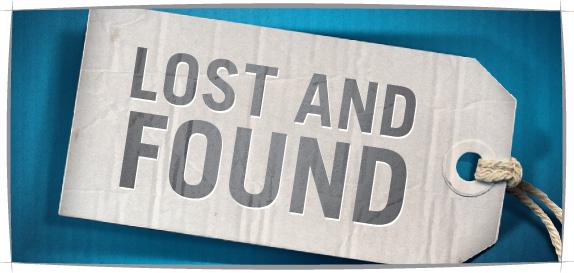 الإجراءات للمفقودات والموجودات