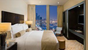 غرف فندق برج رافال كمبينسكي الرياض